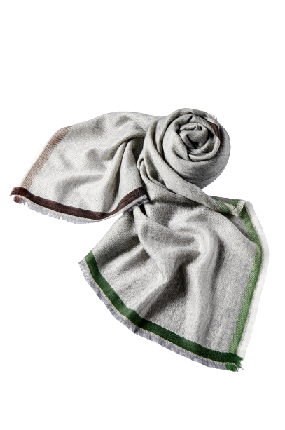 Simple and Stylish Gray Color Cashmere scarf